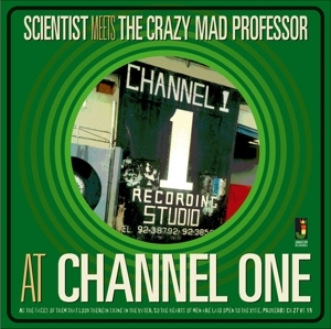 vinyl LP SCIENTIST  Meets the Crazy Mad Professor At Channel One