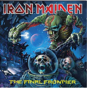 vinyl 2LP set IRON MAIDEN Final Frontier