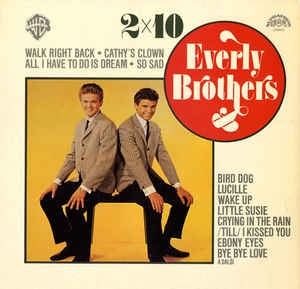 vinyl LP EVERLY BROTHERS 2x10