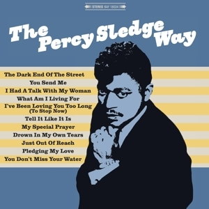 vinyl LP PERCY SLEDGE Percy Sledge Way