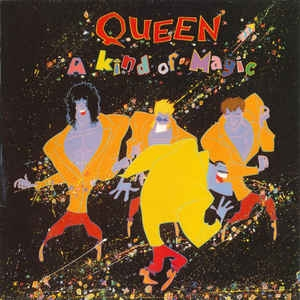 vinyl LP QUEEN A Kind Of Magic