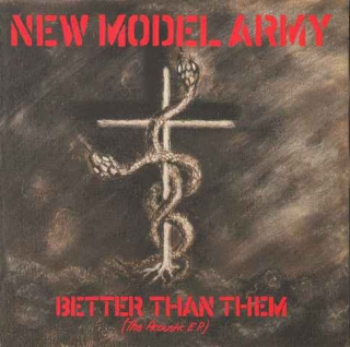 "vinyl 7""EP NEW MODEL ARMY Better Than Them (The Acoustic EP)"