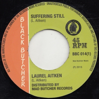 "vinyl 7""SP LAUREL AITKEN Suffering Still/Reggae 69"