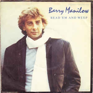 "vinyl 7"" SP BARRY MANILOW Read ´Em And Weep"