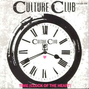 "vinyl 7"" SP CULTURE CLUB Time"