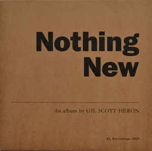 vinyl LP GIL SCOTT-HERON Nothing New