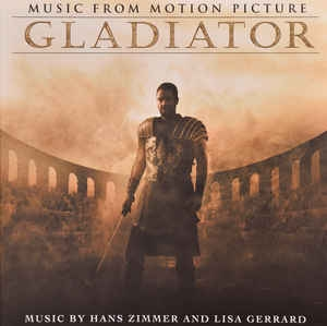vinyl 2LP Gladiator (soundtrack)