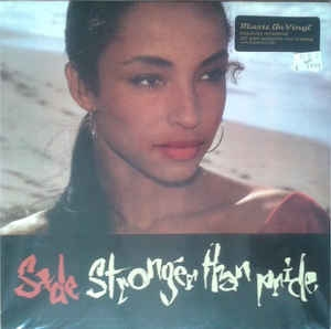 vinyl LP SADE Stronger Than Pride