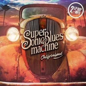 vinyl 2LP SUPERSONIC BLUES MACHINE Californisoul