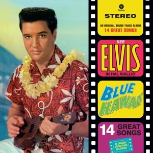 vinyl LP ELVIS PRESLEY Blue Hawaii