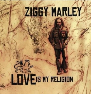 vinyl LP ZIGGY MARLEY Love Is My Religion