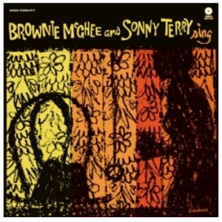 vinyl LP BROWNIE McGHEE and SONNY TERRY Sing