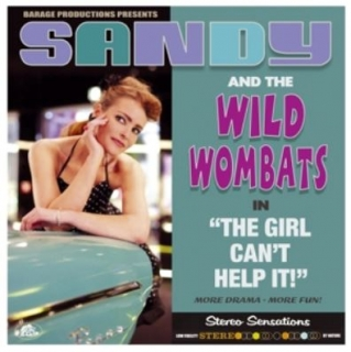 vinyl LP SANDY and THE WILD WOMBATS The Girl Can´t Help It