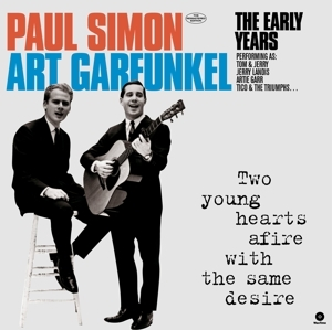 vinyl LP SIMON & GARFUNKEL Two Young Hearts Afire With the Same Desire
