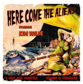 vinyl LP KIM WILDE Here Come the Aliens