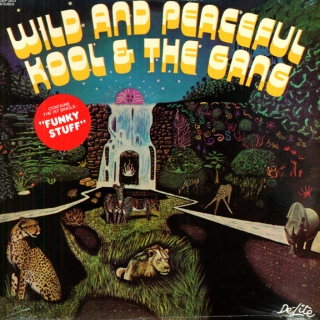 vinyl LP KOOL AND THE GANG Wild and Peacefull