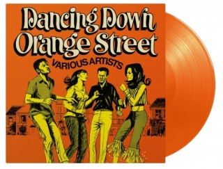 vinyl LP DANCING DOWN ORANGE STREET (various artists)