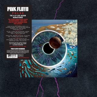 vinyl 4LP PINK FLOYD Pulse
