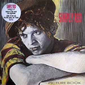 vinyl LP SIMPLY RED Picture Book